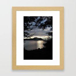 SITKA SUNSET 2 Framed Art Print