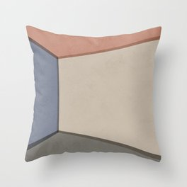 Empty Room no.01 - Lonely Spaces Throw Pillow