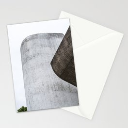 abstract minimalist architectural detail Stationery Cards