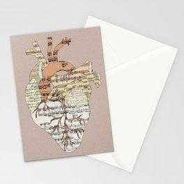 Sound Of My Heart Stationery Cards