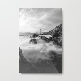 Golden Gate Bridge III Metal Print