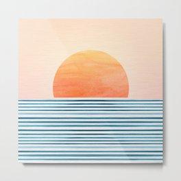 Morning in Paradise ~ Tropical Sunrise Metal Print