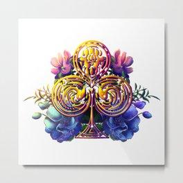 Clover Metal Print