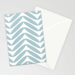 Aqua Fronds Stationery Cards