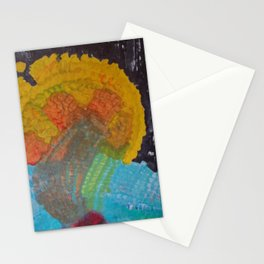 being cosmic Being Stationery Cards