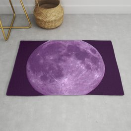Purple Moon Rug