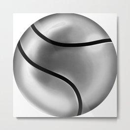 Esfera de metal Metal Print