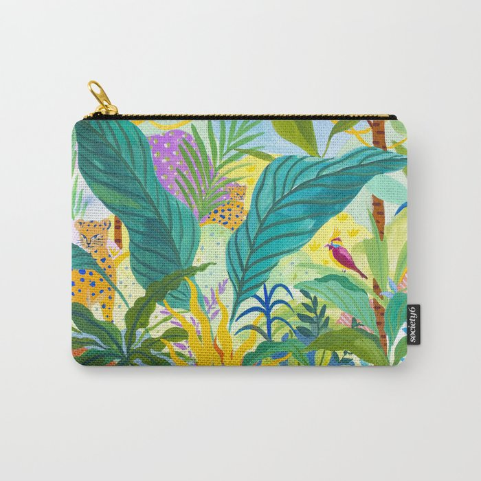 Paradise Jungle Carry-All Pouch