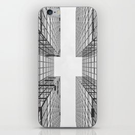 Black and White Skyscraper iPhone Skin