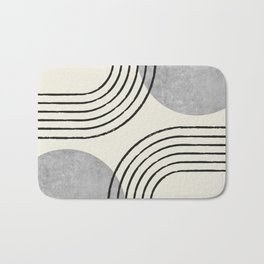 Sun Arch Double - Grey Bath Mat