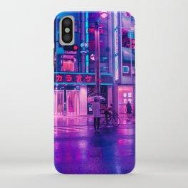 Neon Nostalgia iPhone Case