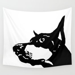 WOFF WOFF CHRISTMAS GIFTS FOR THE Doberman Pincher dog lover Wall Tapestry