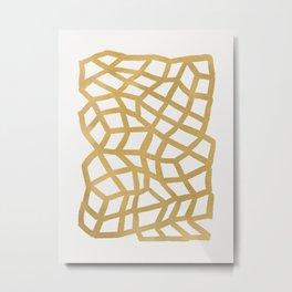 Gold 99 Metal Print