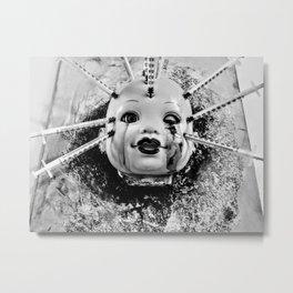 Botox Baby Metal Print