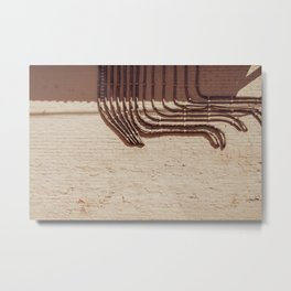 Electric Abstract Metal Print