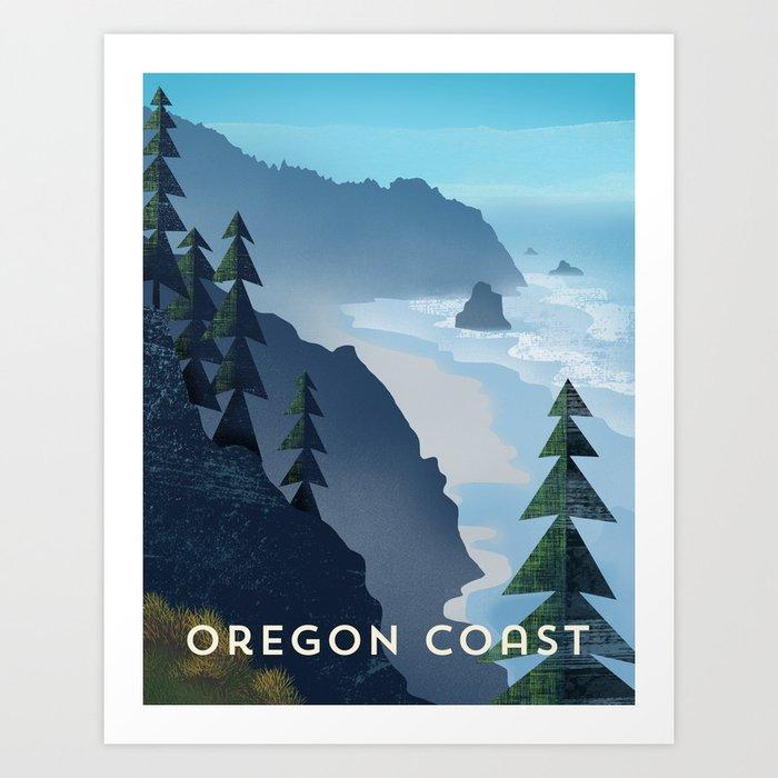 Oregon Coast Kunstdrucke