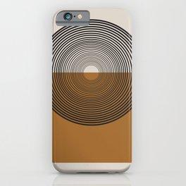 Mid Century Style, Retro  iPhone Case