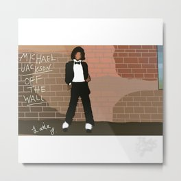 Off The Wall Metal Print
