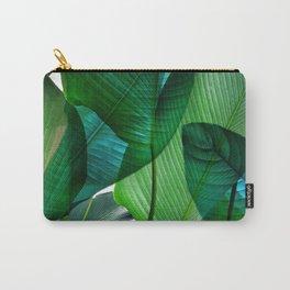 Palm leaf jungle Bali banana palm frond greens Tasche