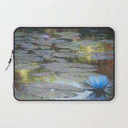 Water Lilies Afloat Laptop Sleeve