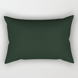 Black-green textured. Rectangular Pillow