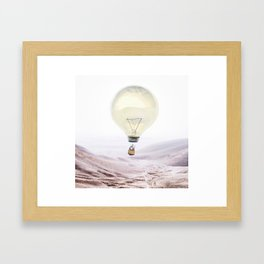 Bright Idea Gerahmter Kunstdruck