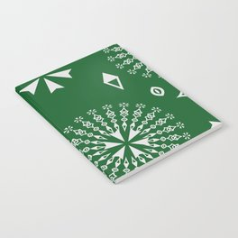 sacred magic pattern Notebook
