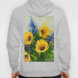 Sunflowers Oil Painting Hoody