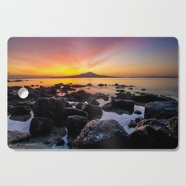 Rangitoto Island New Zealeand Cutting Board
