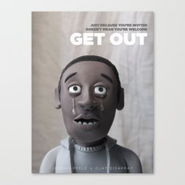 Get Out | Alternative Film Poster Canvas Print