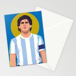 Diego Maradona is a God Stationery Cards