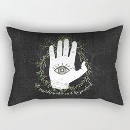 Adam, The Magician - The Raven Cycle Rectangular Pillow