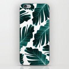 Tropical Banana Leaves Dream #1 #foliage #decor #art #society6 iPhone Skin