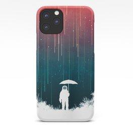 Meteoric rainfall iPhone Case