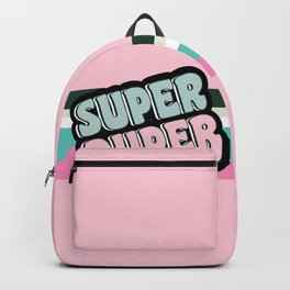 Super Duper Pastel Rose Pink Backpack