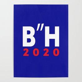 "B""H Biden Harris 2020 LOGO JKO Poster"