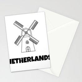 The Windmills At Kinderdijk Stationery Cards