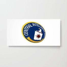 CIA Shield Metal Print
