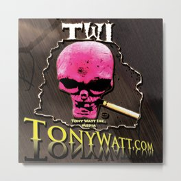TWI Studio Logo -Hollyweird, Toronto, Canada Metal Print