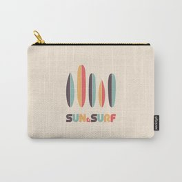 Sun & Surf Surfboards - Retro Rainbow Carry-All Pouch