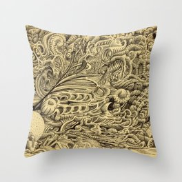 Sick Chamber by Brian Benson Throw Pillow