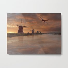Dawn Recon Metal Print