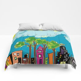 JL The City View Comforters