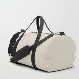 Black Hair No. 10 Duffle Bag