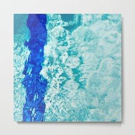 Pool Abstract Metal Print