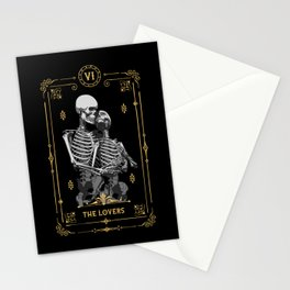 The Lovers VI Tarot Card Stationery Cards