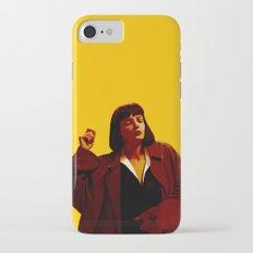 Mia Wallace - Yellow iPhone 7 Slim Case
