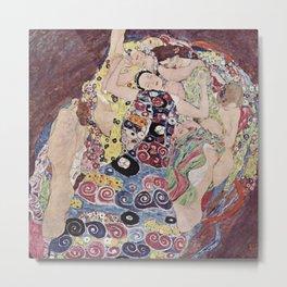 Gustav Klimt - The Maiden Metal Print