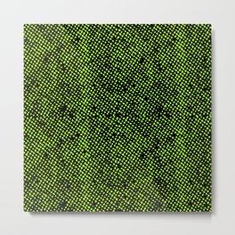 Simple Promise Neon Green 0316 Metal Print
