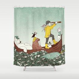 Arctic Adventure Shower Curtain